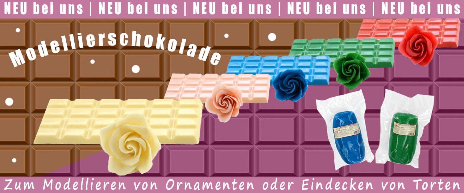 Modellierschokolade mit Text